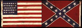 Federal/Confederate Flags